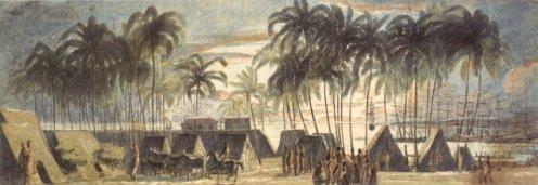 'Port_of_Honolulu'_by_Louis_Choris-1816