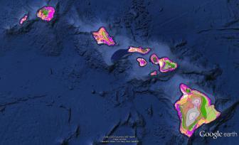 Pre-contact Footprint-Eco-systems-Hawaiian Islands-GoogleEarth-OHA-TNC