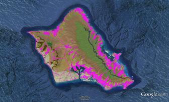 Pre-contact Footprint-Eco-systems-Oahu-GoogleEarth-OHA-TNC