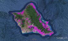 Pre-contact Footprint-Oahu-GoogleEarth-OHA-TNC