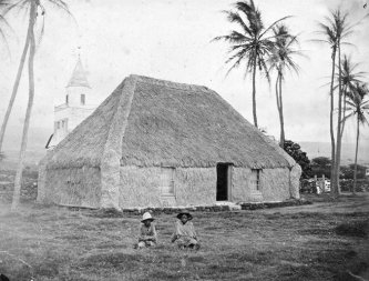 Princess Ruth slept in a pili grass house rather than Hulihee Palace