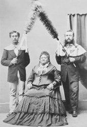 Princess_Ruth-(Keelikolani)_with_Samuel_Parker_and_John_Adams_Cummins-1870s