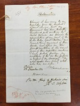 Proclamation-Government Threatened-Kamehameha III to Kuhina Nui & Wyllie-English-Dec_8,_ 1854