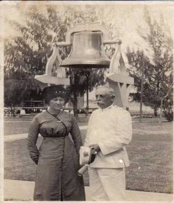 Quarantine Station-Dr William F James with his wife Sarah Robinson James-(heavenlycolors)