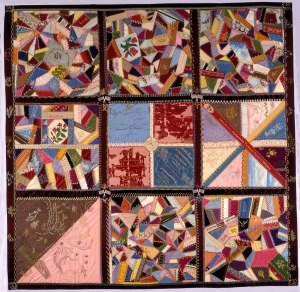 Queens Quilt made while imprisoned