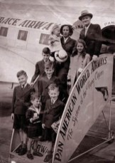 ROSE AND HARRY'S FAMILY WHEN HE RESIGNS FROM FOREIGN SERVICE, circa 1946