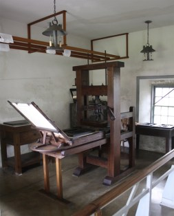 Ramage Press replica at Mission Houses