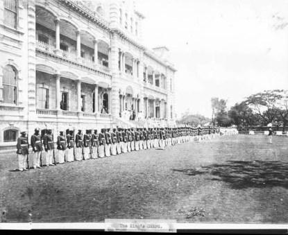 Royal Guards c.1880s