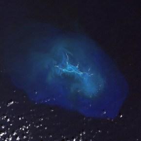 Satellite image of Maro Reef