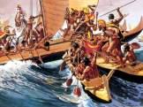 Sea_battle_at_mokuohai-(HerbKane)