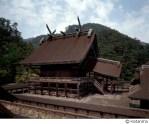 Shinto shrine of Izumo Taisha in Shimane Prefecture, Japan