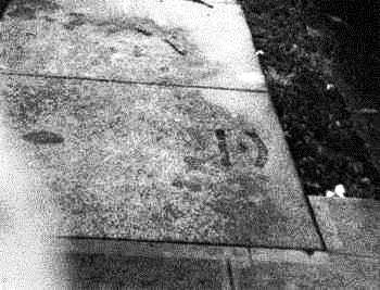 Sidewalk Stamp Downtown Honolulu-John_Walker-(walker-moody-com)-1971