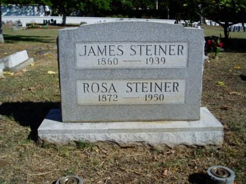Steiner headstone