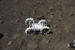 Testing of equipment on Mauna Kea, a remote and cold dormant volcano on Hawaii-(NASA-Amber Philman)