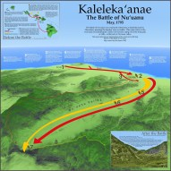 The Battle of Nuuanu-Kalelekaanae-(RobJames)-Map