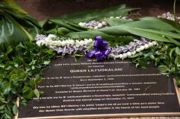 The Spirit of Liliuokalani-plaque