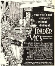 Trader Vic's International Market Place