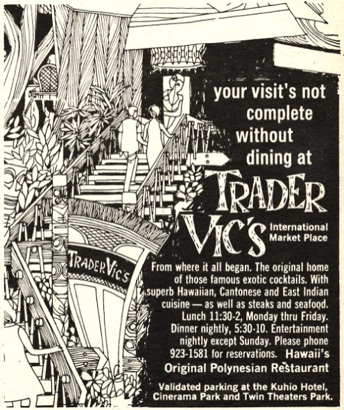 Trader Vic's International Market Place