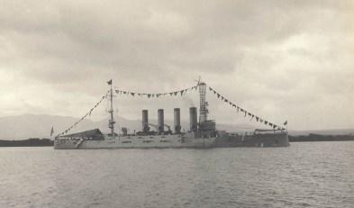 USS-California-Pearl Harbor-Dec 14, 1911
