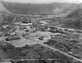 University of Hawaii campus, 1932.
