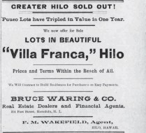 Villa Franca Ad-Hawaiian Star-Feb_24,_1898