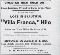 Villa Franca Ad-Hawaiian Star-Feb_24,_1898