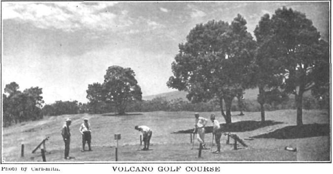 Volcano Golf Course-1926
