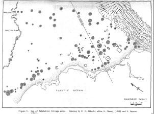 Waiahukini Village Runis-Map-Kelly