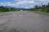 Waieli Gulch runway