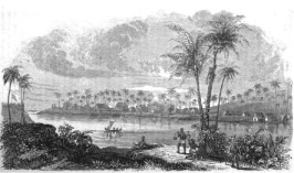 Waimea, Kauai in the 1820s