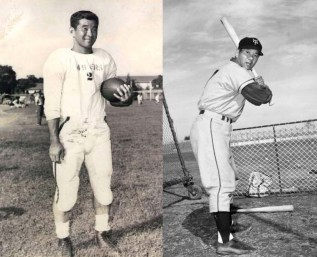 Wally Yonamine-football-baseball