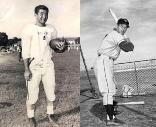 Wally Yonamine-football-baseball