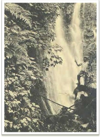 Waterfall believed to be at Waiāhole (CWRM)