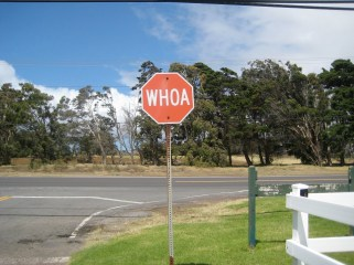 Whoa_Sign-Parker_Ranch