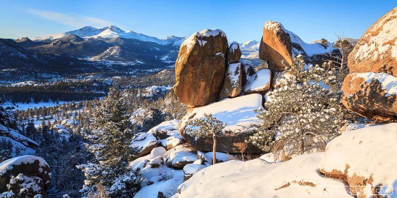 Longs From Lumpy : Lumpy Ridge, Rocky Mountain National