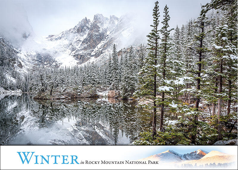 Winter Greeting Cards Images Of Rocky Mountain National Park