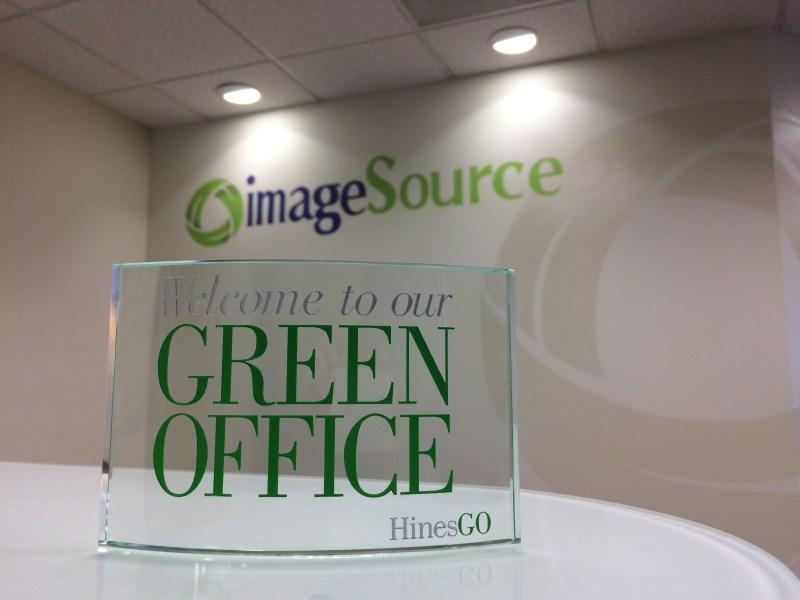 Image Source Wins Green Office Award