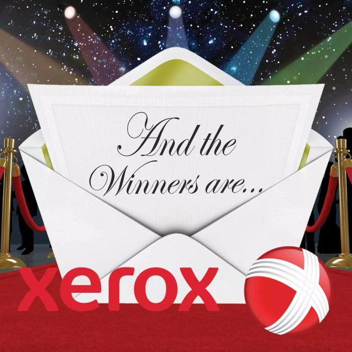 "Xerox Wins Two ""Oscars"" of the Print World"