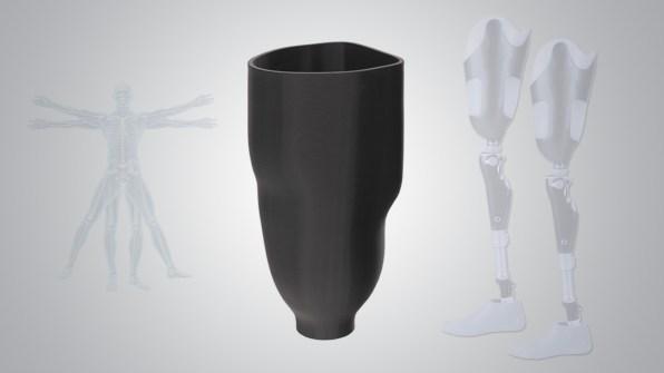 3d leg prosthetics