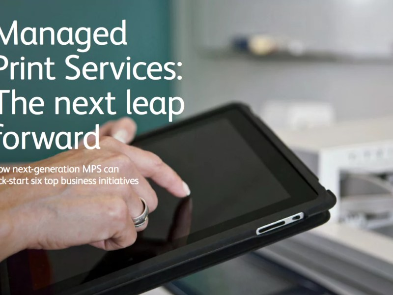 Managed Print Services: The Next Leap Forward