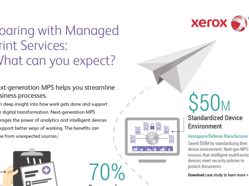 Soaring with Managed Print Services: What can you expect?