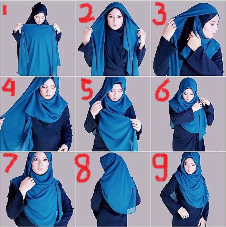 صور لفات حجاب اجمل لفات الطرح وداع وفراق