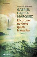 Cubierta novela El coronel no tiene quien le escriba de Gabriel García Márquez