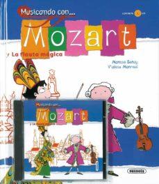 mozart y la flauta magica-montse sanuy simon-9788430545834