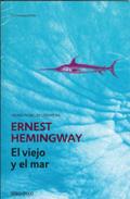 Cubierta novela El viejo y el mar de Ernest Hemingway