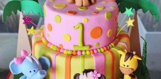 jungle-animals-birthday-cakes-for-girls