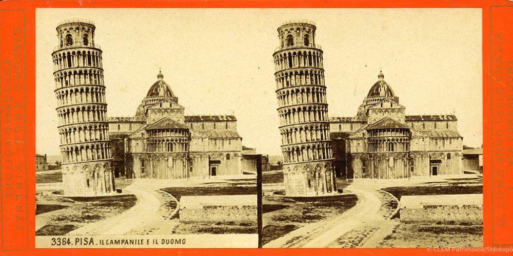 Images stéréoscopiques Brogi Giacomo Pise 3364
