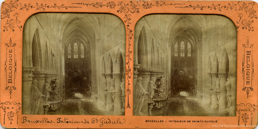images stéréoscopiques Adolphe Block Belgique Bruxelles