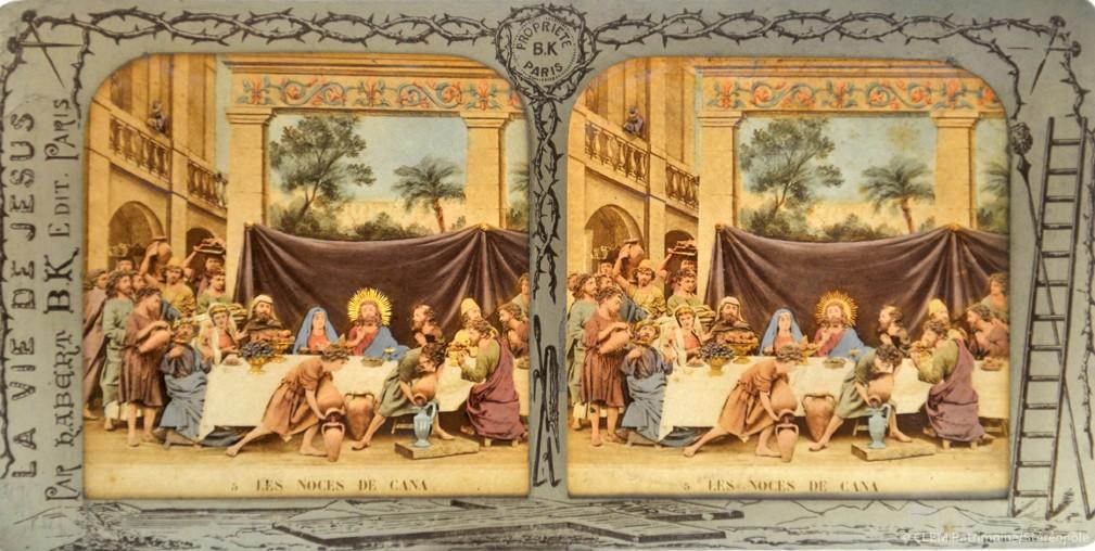 images stéréoscopiques Adolphe Block Alfred Habert La vie de Jésus