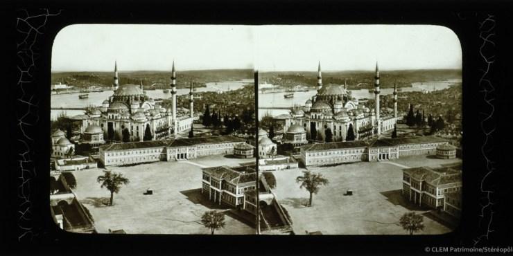 Images stéréoscopiques Istanbul Ferrier Soulier